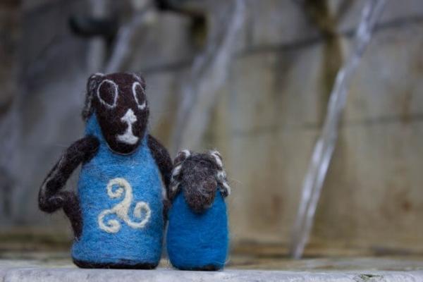 Muñequitos de lana